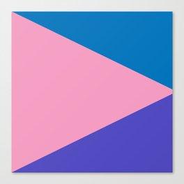 Triangles (Miami) Canvas Print