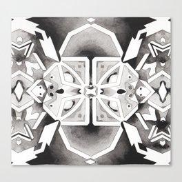 Star Chart Kaleidoscope Canvas Print