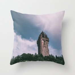 Tower in the Wind Throw Pillow