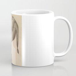 Elephant stomps skull Coffee Mug