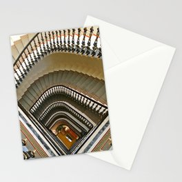Stairs of the Palace, Lisbon, Portugal Stationery Cards