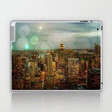 NYC Skyline Lights Laptop & iPad Skin