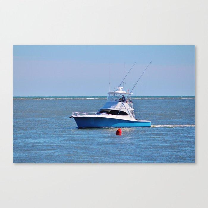 Blue On Blue Canvas Print