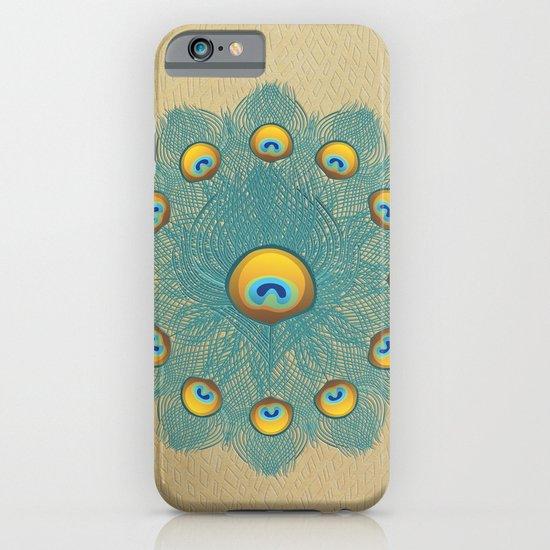 Mandala Peacock iPhone & iPod Case