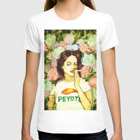 ultraviolence T-shirts featuring Hydranges and Peyote by Robert Red ART