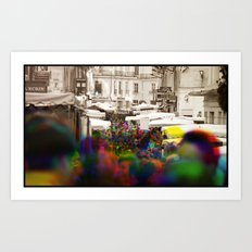 Sequential Serie : On the Street Art Print
