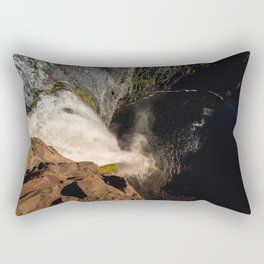 Fear of Heights - Palouse Falls Rectangular Pillow