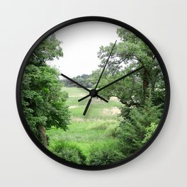 Prairie Longing Wall Clock