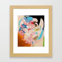 Drunk Painting Framed Art Print