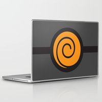 naruto Laptop & iPad Skins featuring Naruto Suit by bivisual