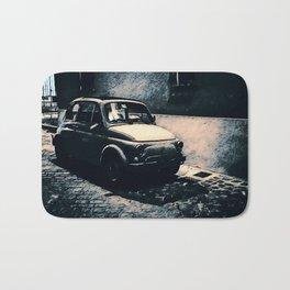 Vintage 500 in Italian Noir Bath Mat