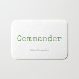 Commander Bath Mat