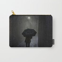 Night walk in the rain Carry-All Pouch