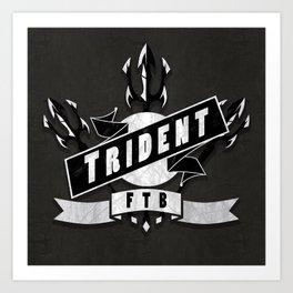 Trident Art Print