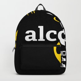 alcohol glue holding 2020 shitshow Backpack