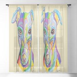 Greyhound Sheer Curtain