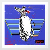 fly color Art Print