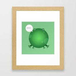 ANIMALS | FROG Framed Art Print