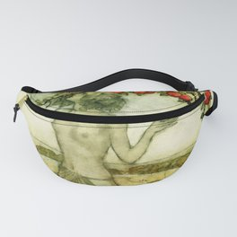 Dryad and Sprites picking apples Fanny Pack