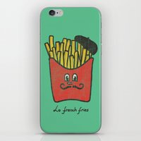 fries iPhone & iPod Skins featuring French Fries by Picomodi