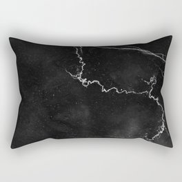 MARBLE BLACK & WHITE Rectangular Pillow