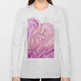 Sommer Rose Acrylic Long Sleeve T-shirt