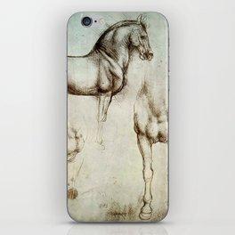 "Leonardo da Vinci ""Gran Cavallo"" iPhone Skin"