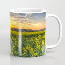 Late Afternoon April Field Coffee Mug