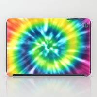 tie dye iPad Cases featuring Tie Dye by Patterns of Life