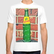 Squirt Soda MEDIUM White Mens Fitted Tee
