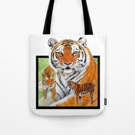 Keisha Tiger Tote Bag