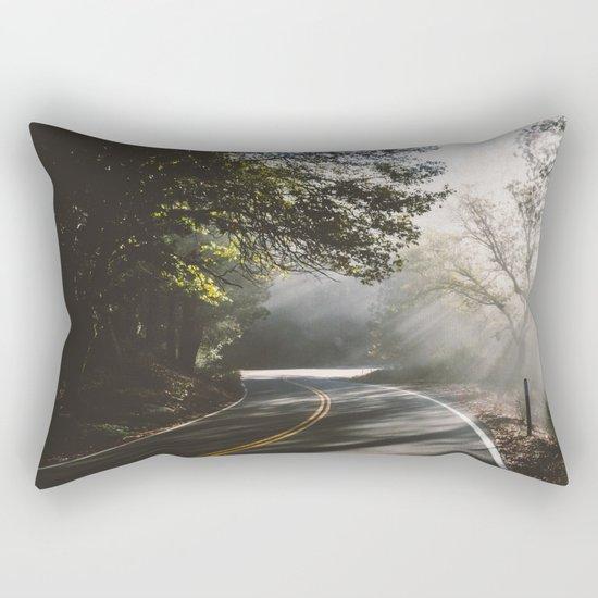 road to life Rectangular Pillow