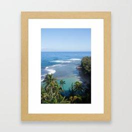 Kauai's North Shore Framed Art Print
