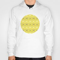 glasses Hoodies featuring Glasses by C Designz