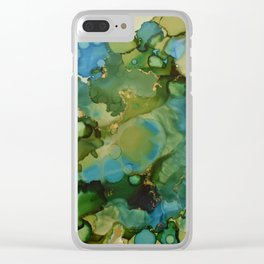 Tidal Pool Clear iPhone Case