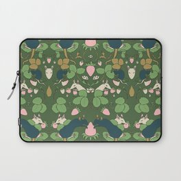 Strawberry Rat Thieves (green) Laptop Sleeve