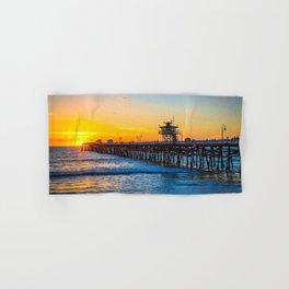 San Clemente Pier California United States Ultra HD Hand & Bath Towel