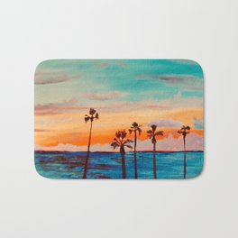 Pacific Sunset Bath Mat
