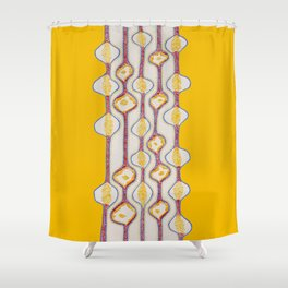 Stitches - Growing bubbles Shower Curtain