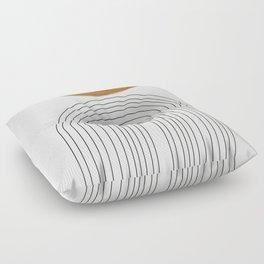 Minimalist Space Floor Pillow