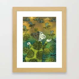 The Beekeeper Framed Art Print