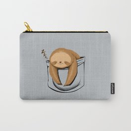 Sloth in a Pocket Carry-All Pouch