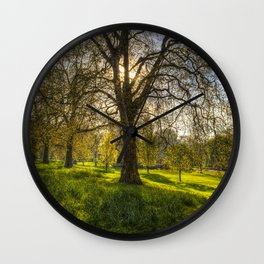 St James Park London Wall Clock