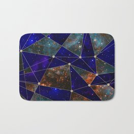 Stars Connections Bath Mat