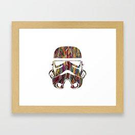 Raised on Biggie and The Dark Side Framed Art Print