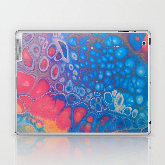 Rainbow Geode Laptop & iPad Skin