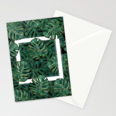 Square Between the Leaves Stationery Cards