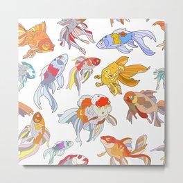 FISH FISH FISH Metal Print