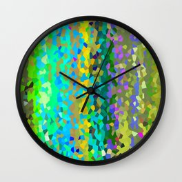 Olive Moon Love Wall Clock