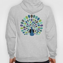 Peacock Time Hoody